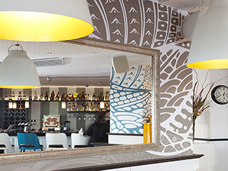 מסעדת ולובי מלון גורדון תמונה ראשונה